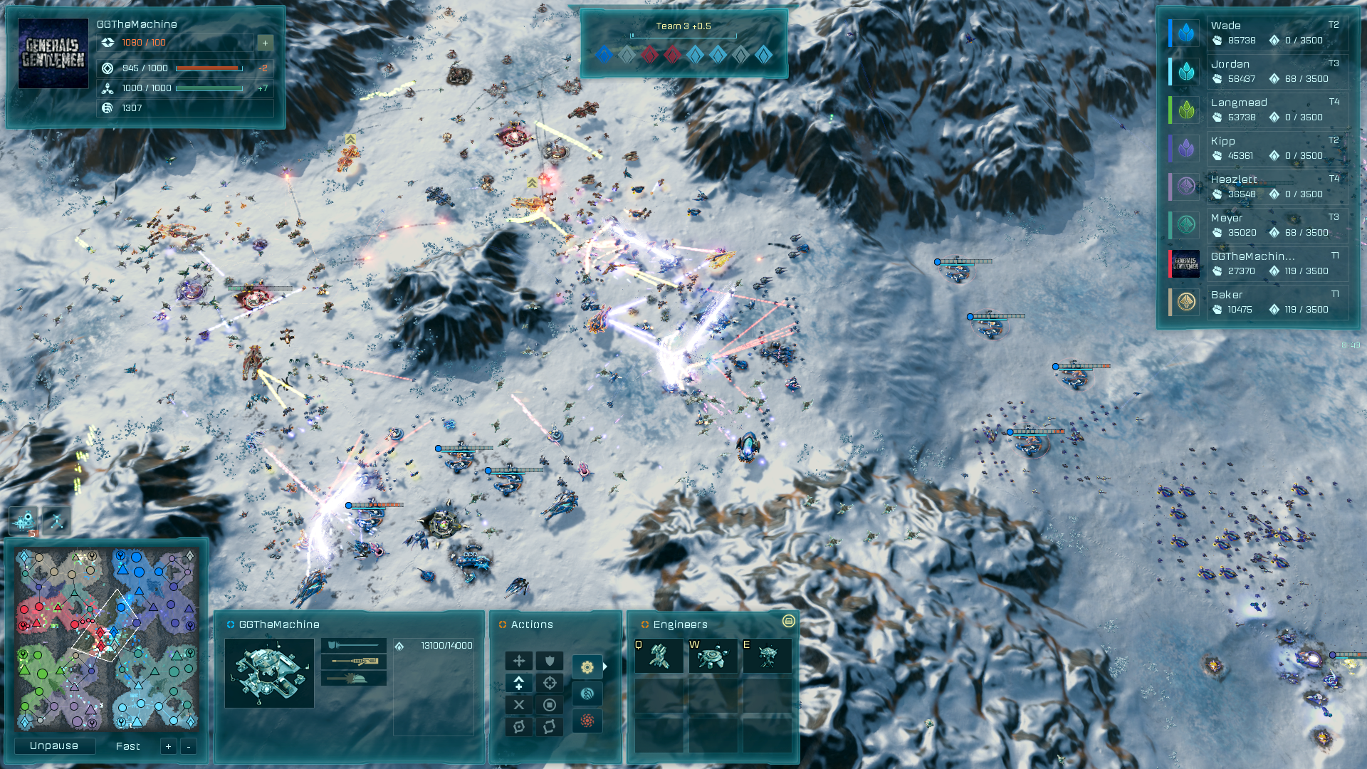 Massive v22 update for ashes of the singularity escalation is now youve been asking and here it is the game replays remove the fog of war so that you can see absolutely everything that went on during your game gumiabroncs Gallery
