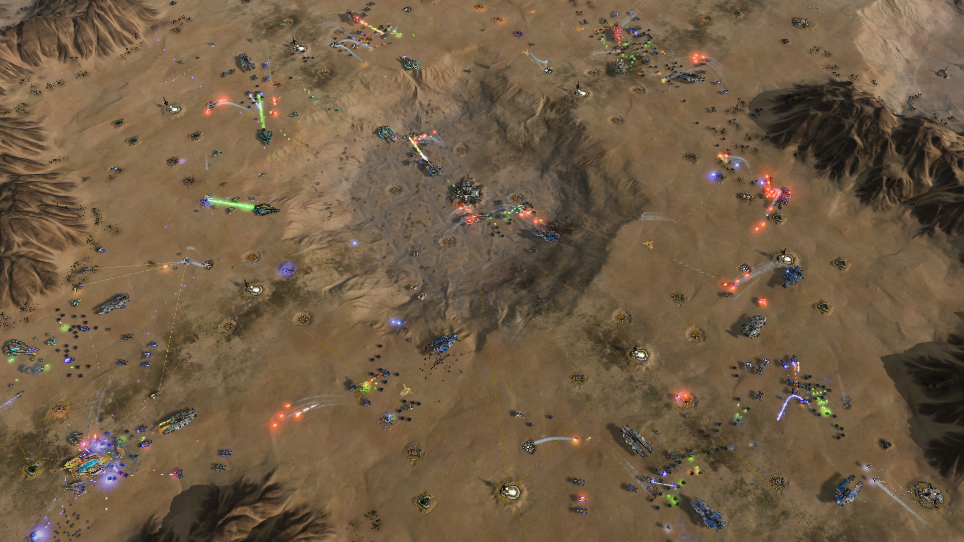 ashes of the singularity turtle wars dlc adds new scenarios maps and more