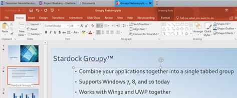 Groupy: Innovative Software from Stardock