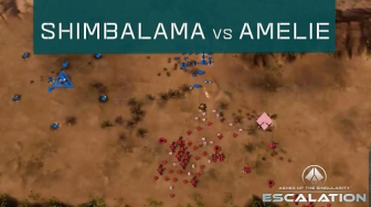 Shimbalama vs Amelie - Ashes of the Singularity: Escalation [Tournament Cast]
