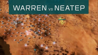 Warren(PHC) vs Neatep(PHC) - Ashes of the Singularity: Escalation [1v1 Gameplay Commentary]