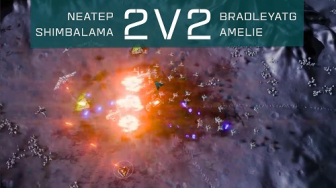 Ashes of the Singularity: Escalation [2v2 Gameplay]
