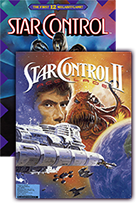 Star Control 1 & 2 box art