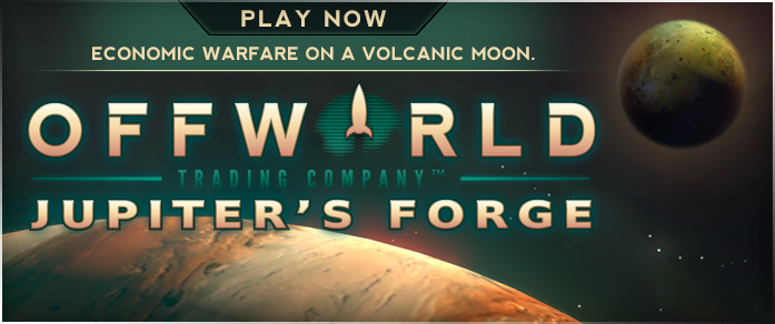 Offworld Trading Company: Jupiter's Forge Expansion