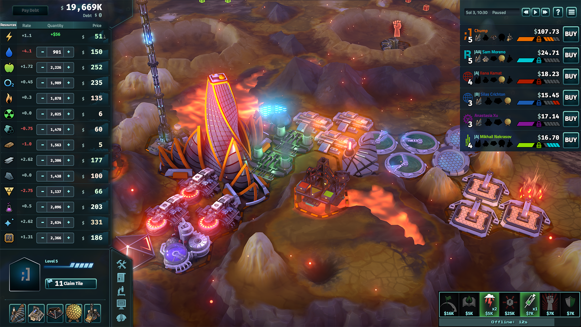 You Think The World Is Cruel Mean And Harsh Take A Look: New Jupiter's Forge Expansion For Offworld Trading Company