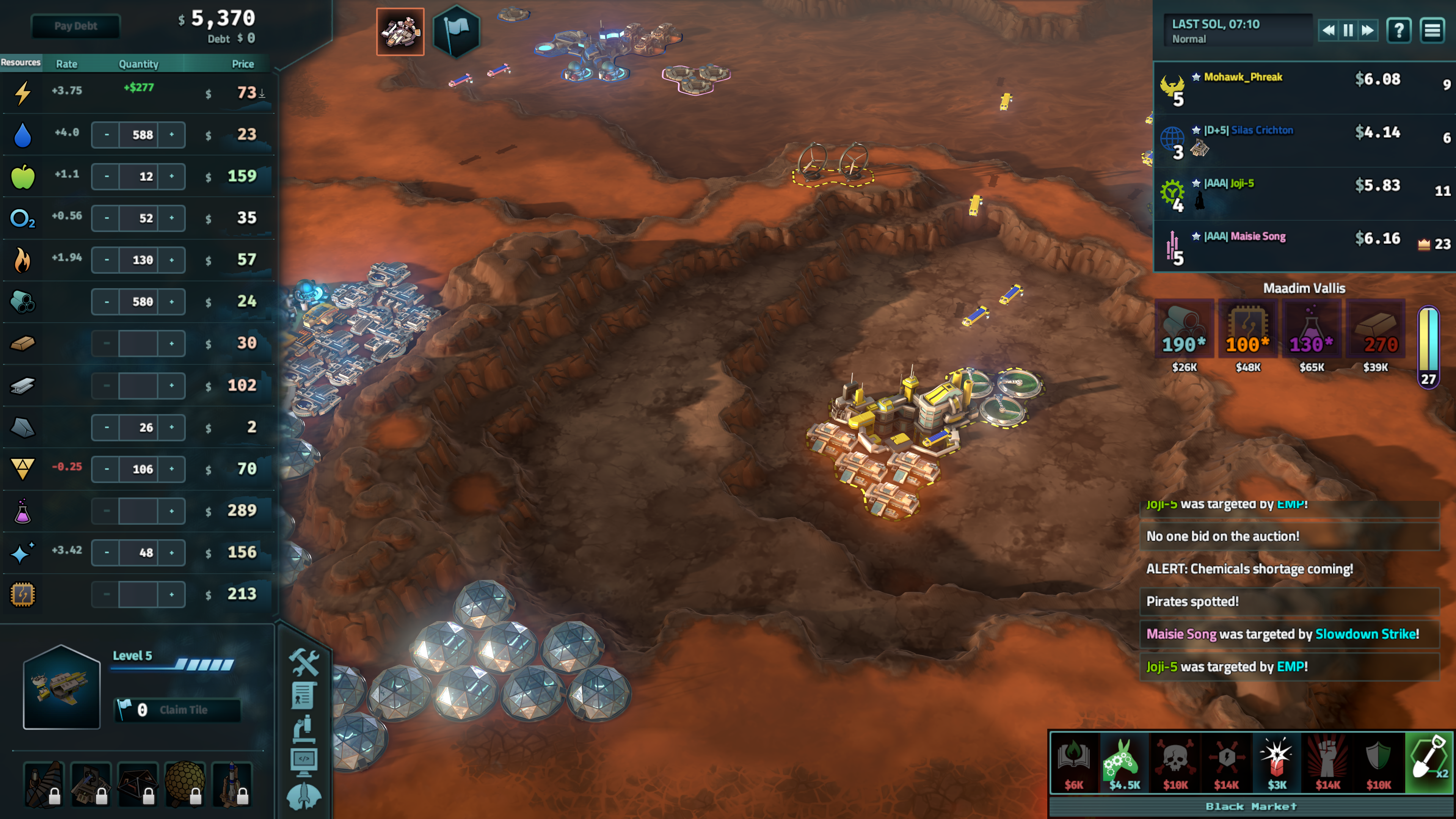 FREE Multiplayer Client and New DLC for Offworld Trading Company are