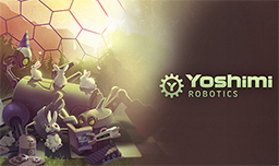 Yoshimi Robotics Splash Screen