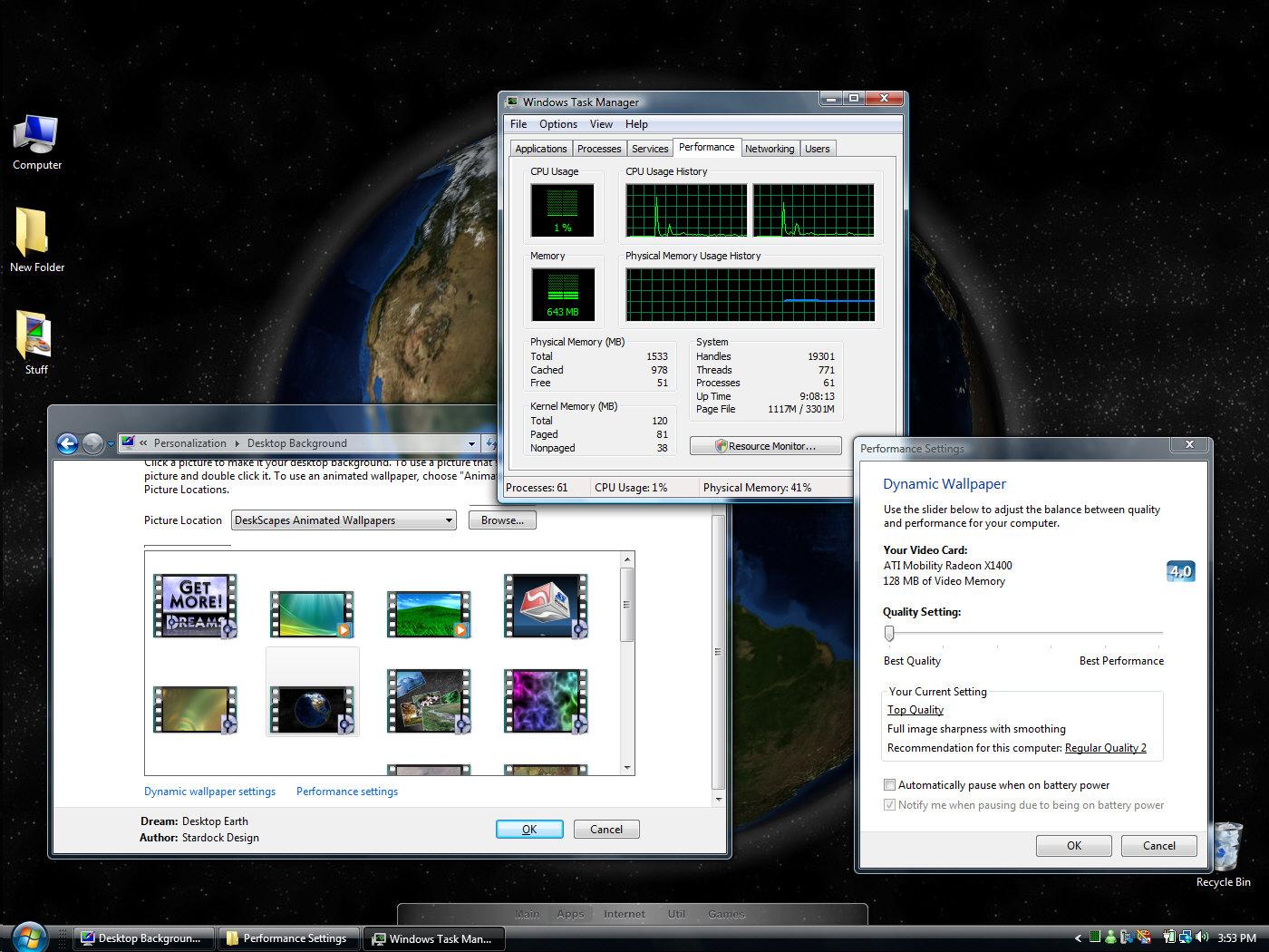 deskscapes 2.0 animated
