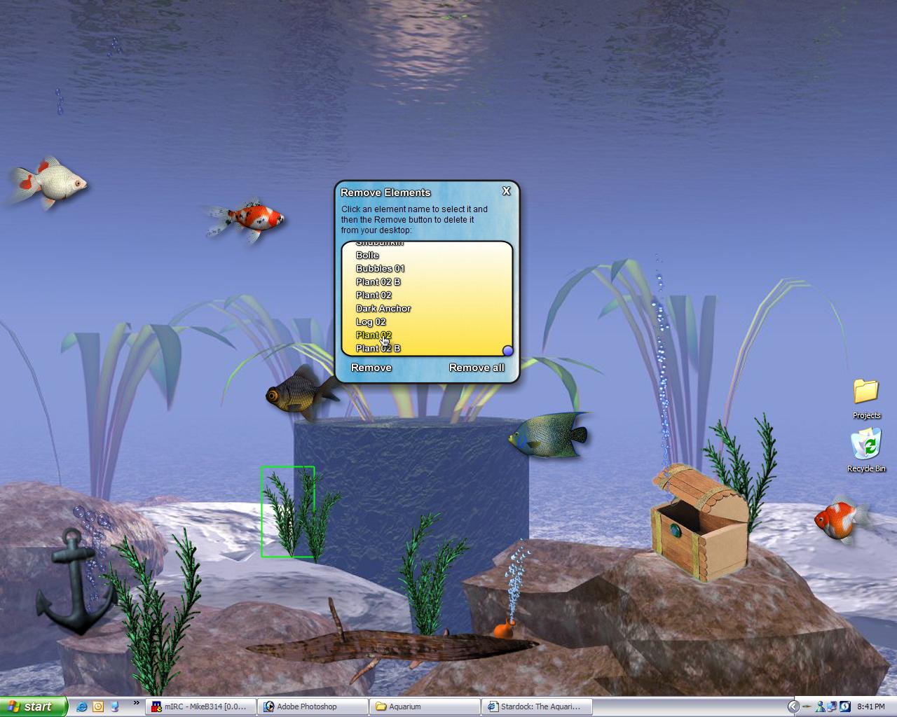 aquarium desktop 2006 released with brad wardell