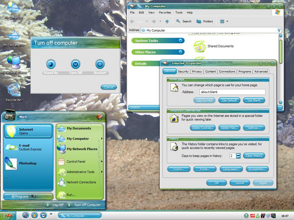 stardock aquarium desktop 2009