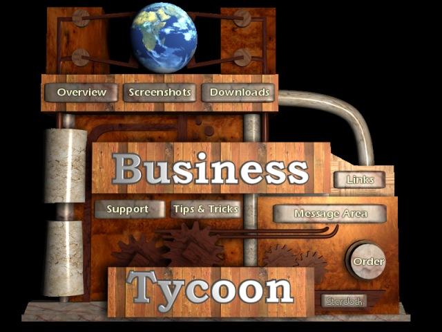 Business Tycoon Menu