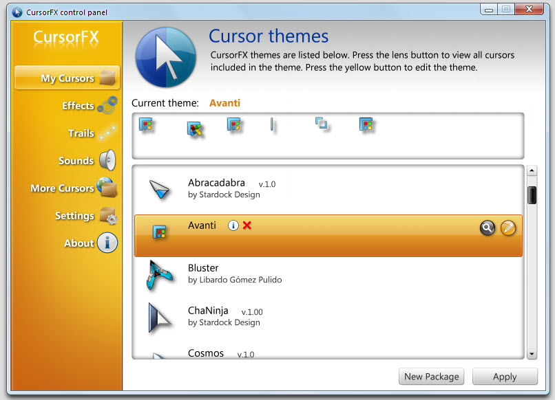 CursorFX - Create Custom Windows Cursor Themes
