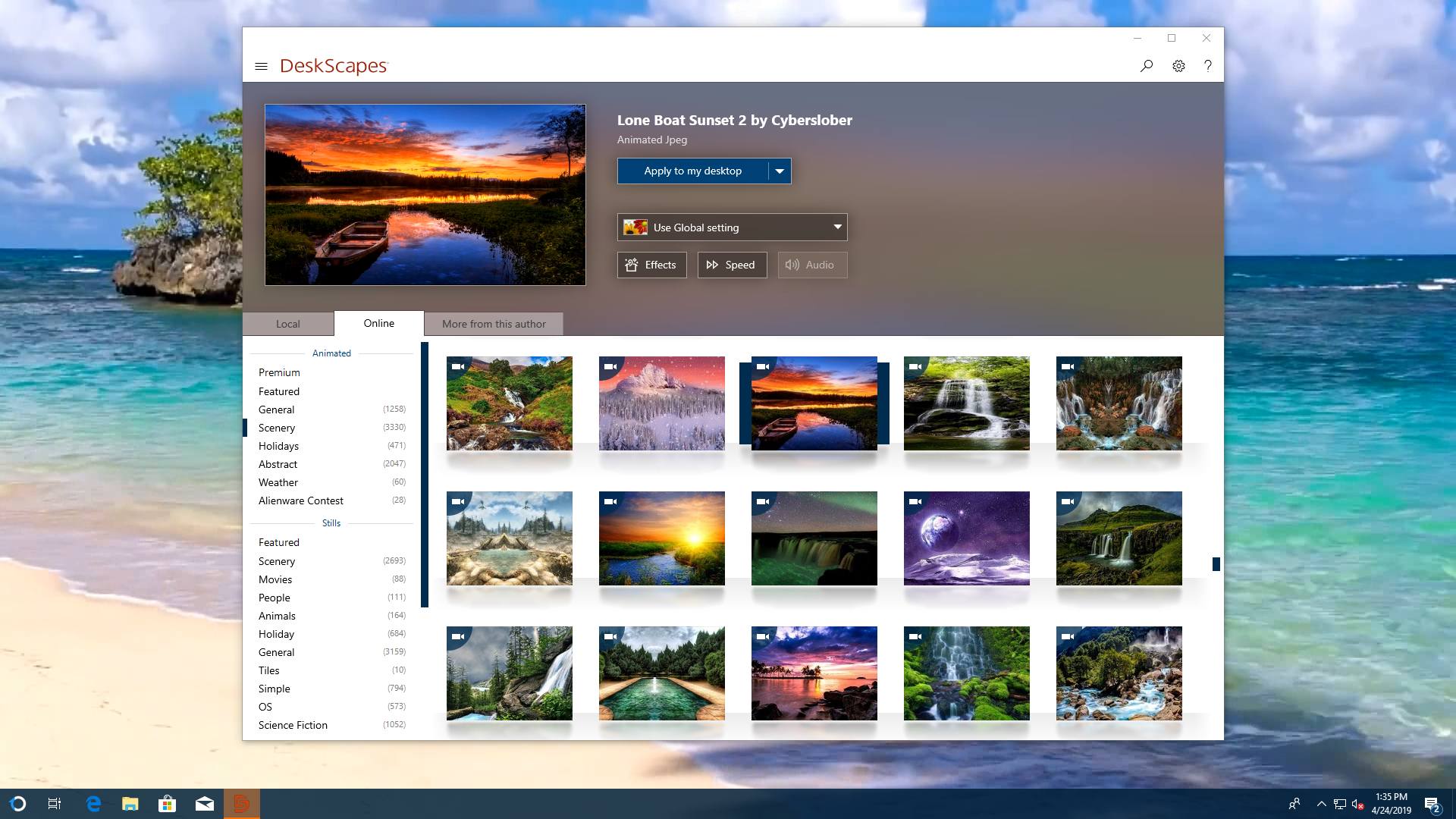 Animated Wallpapers For Windows Stardock S Deskscapes