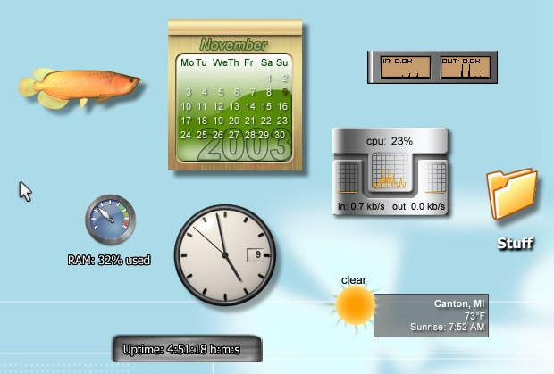 �����ȿ���� Stardock DesktopX Enhanced