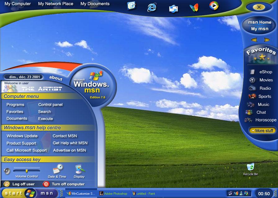 DesktopX - Custom Windows Desktop