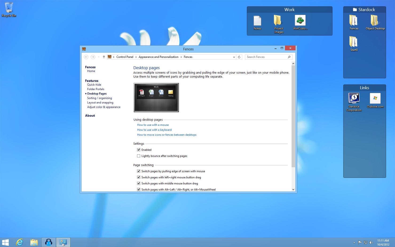 Fences Your Tool For A Clean Desktop