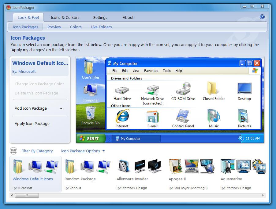 Программы Для Изменение Интерфейса Виндовс 7