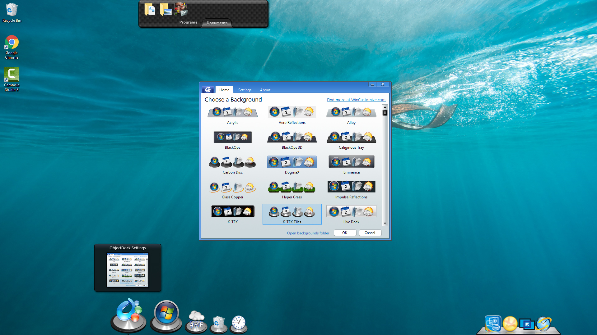 Stardock Objectdock Most Popular Animated Dock For Windows