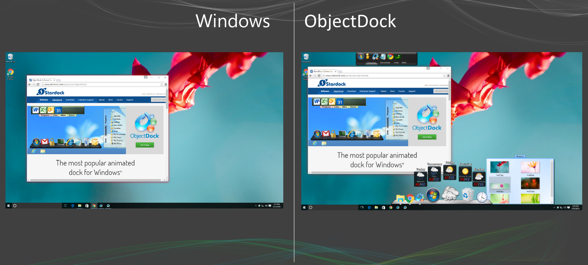 Objectdock Software From Stardock