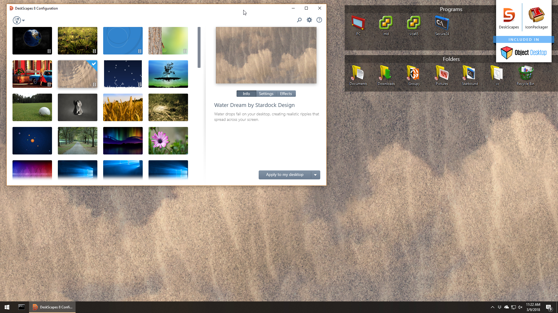 Animate Your Desktop Wallpaper And Customize Icons
