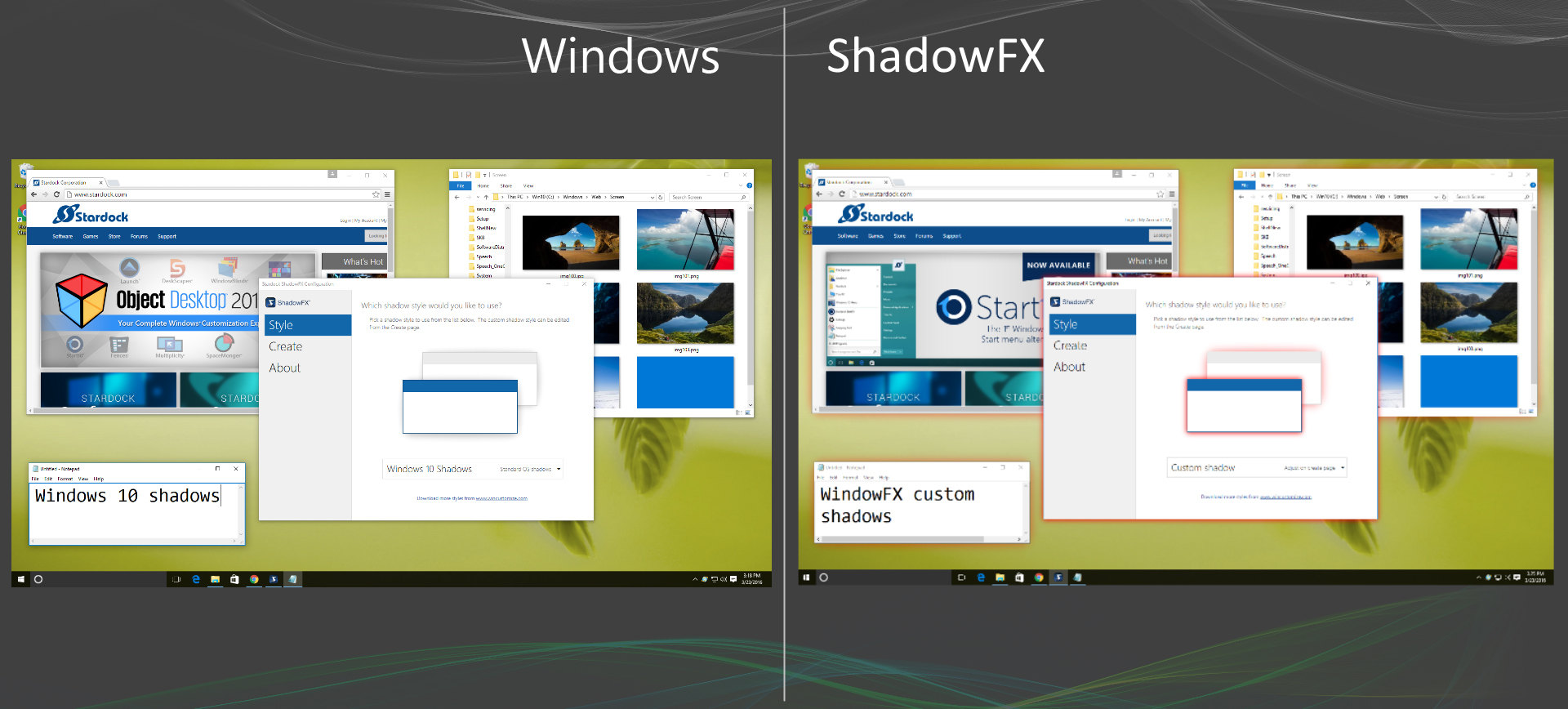 Shadowfx Software From Stardock
