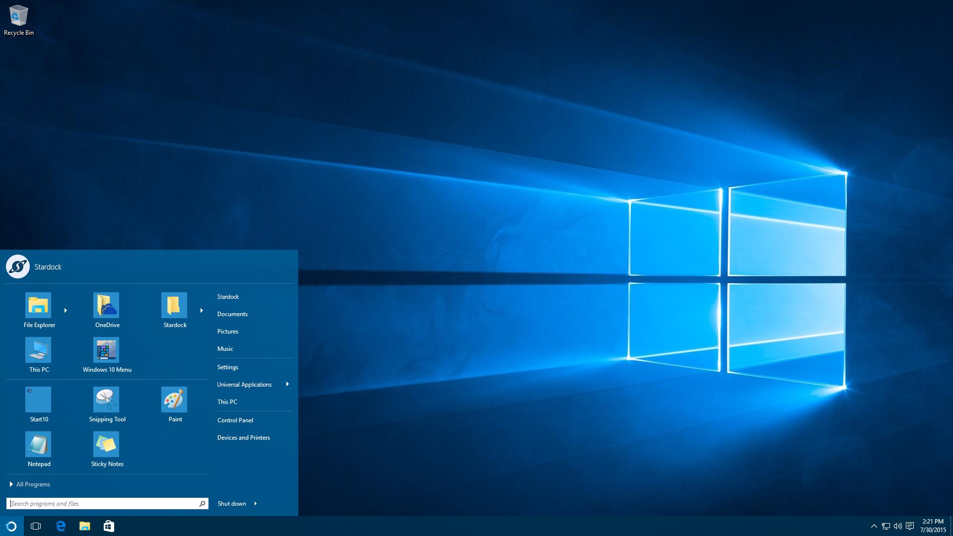ajouter skype sur le bureau windows 10