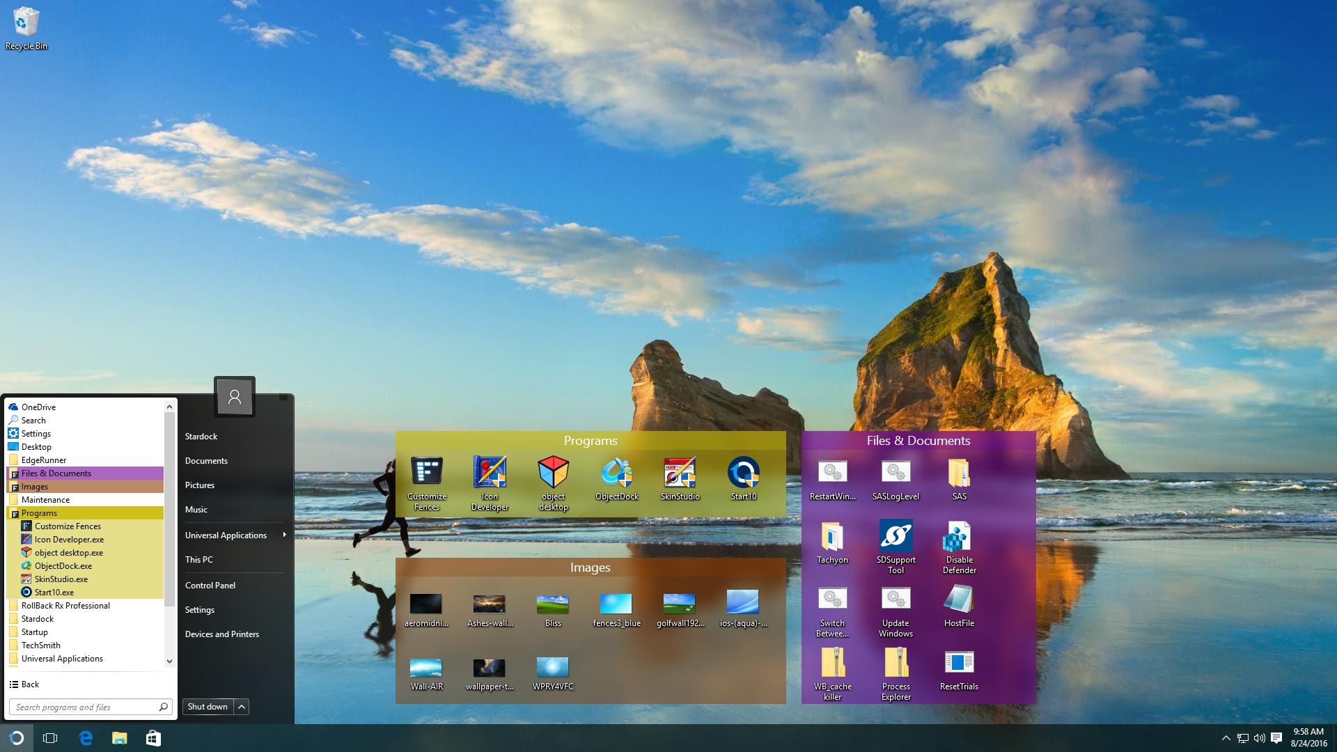Start10™, bring back the Windows® Start menu.