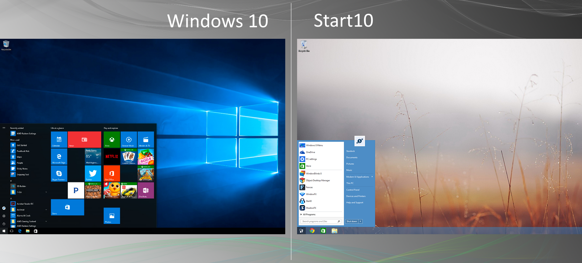 Start10 : Software from Stardock