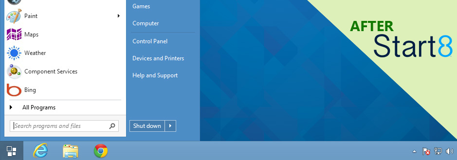 خاص لويندوز 8.1/8 برامج تعيد قائمة ال start التي فقدناها في windows
