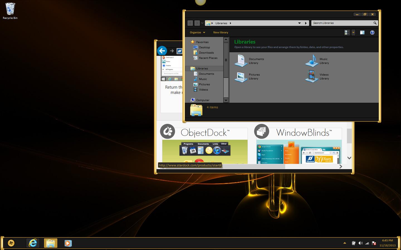 آخر اصدار للعملاق المتألق فى تغبير شكل جهازك بالكامل Stardock WindowBlinds 8.02 Final