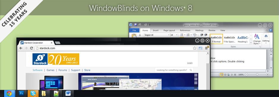 Stardock WindowBlinds download free 10 74 full crack version windows