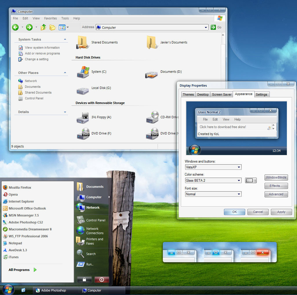Stardock objectdock plus version 1.90 build 535u