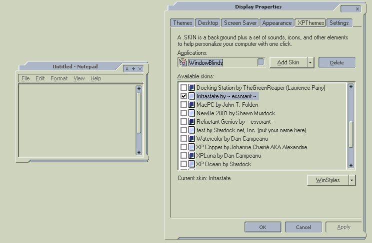 how to create windows skins