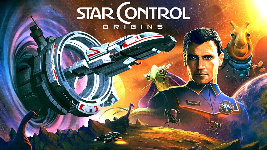 Star Control: Origins Key Art